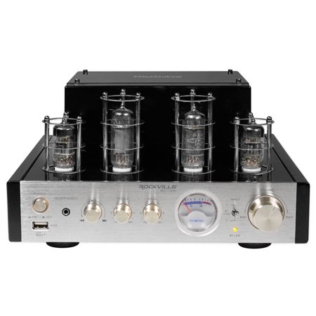 Rockville BluTube Tube Amplifier Bluetooth Receiver For Klipsch R-51M Speakers (Klipsch Audio Speakers)