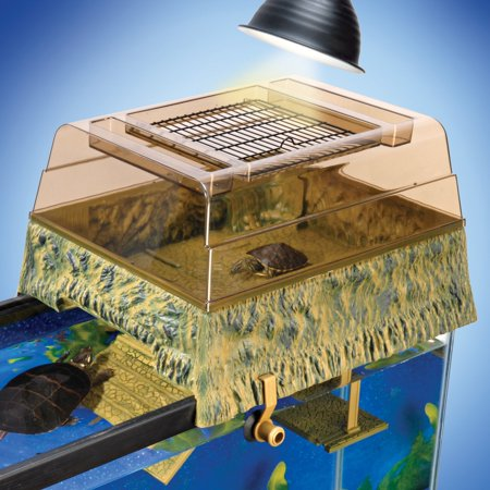 Penn-Plax Reptology Turtle-Topper Above-Tank Basking Platform