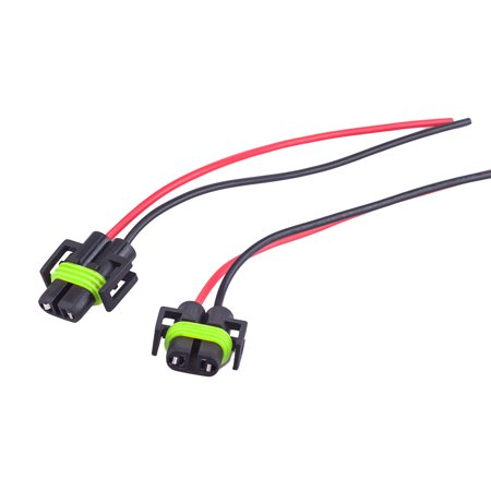 H11 H8 Adapter Wiring Harness Sockets Wire For Headlights or Fog  H Wire Harness on