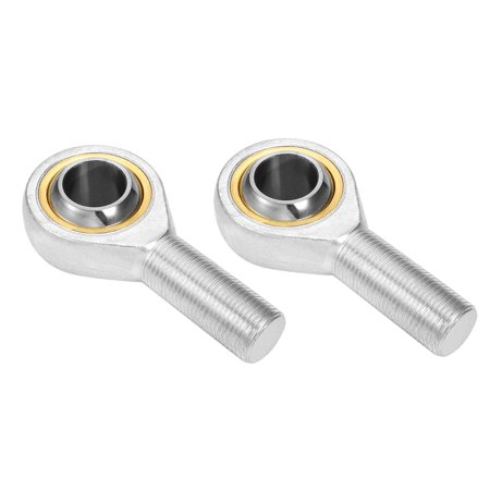 8 Mm End - Unique Bargains SA8T/K 8mm Inside Dia 12.9KN Economy Male Right Hand Rod End Bearing 2pcs
