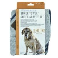 Territory Super Towel for Pets, 27 x 27
