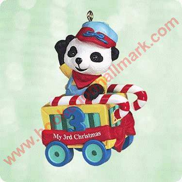 Hallmark Ornament 2003 Childs Third Christmas ()