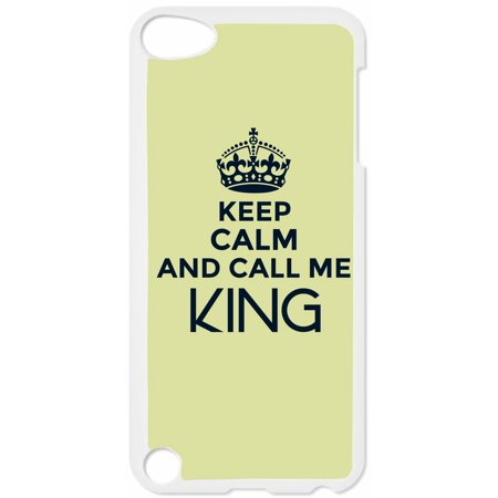 Keep Calm and Call Me King-Slate Hard White Plastic Case Compatible with the Apple iPod Touch 5th Generation - iTouch 5 Universal](find me the cheapest ipod touch)