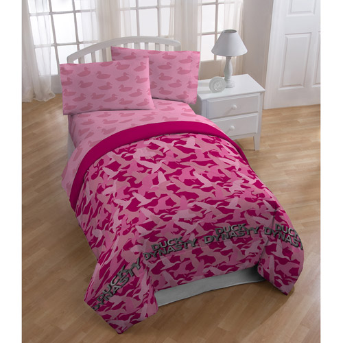 Duck Dynasty Pink Camo Bedding Comforter