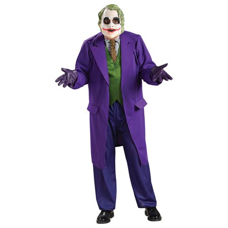 Morris Costumes Mens Superheroes & Villains Batman Joker Deluxe 44, Style RU888632 for $<!---->