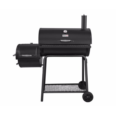 Royal Gourmet CC1830F Charcoal Grill with Offset Smoker, 800 Square Inches, Black, Backyard