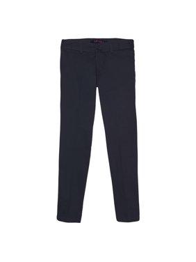 French Toast Girls School Uniform Stretch Twill Straight Leg Pants (Little Girls & Big Girls)
