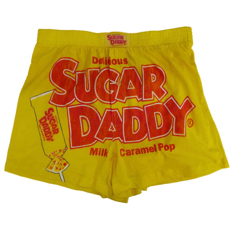 Sugar Daddy Sugar Daddy Mens Yellow Valentine S Day Boxers Candy