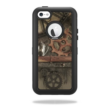 Skin Decal Wrap For Otterbox Defender Iphone 5C Case Steam Punk Room