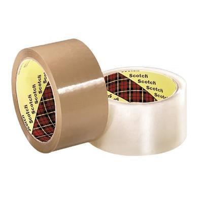 Scotch Box Sealing Tape371 Clear 72mmx50m