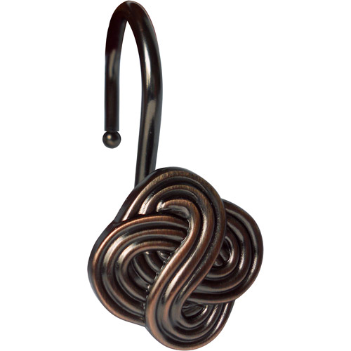 Elegant Home Fashions Shower Hooks, Gaelic Knot