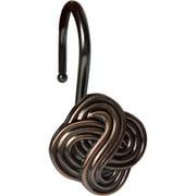 Elegant Home Fashions Shower Hooks, Gaelic Knot