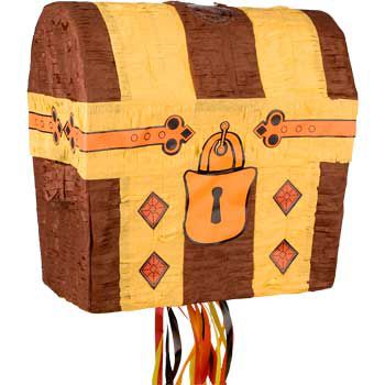 Treasure Chest Pinata (each) - Party Supplies