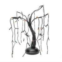 Spider Black And Purple LED Tree