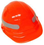 Reflective 360 degree stripes for hard hats (silver)