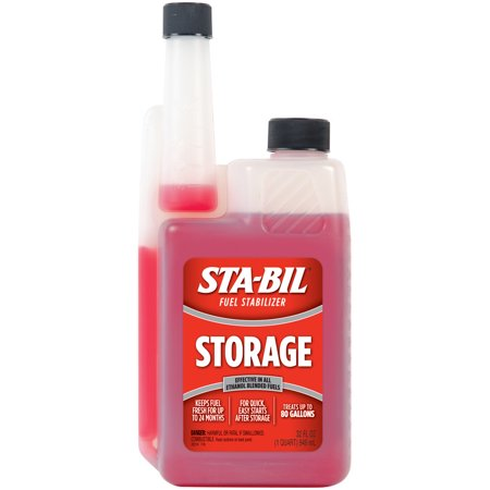 STA-BIL (22214) Storage Fuel Stabilizer for All Gasoline Engines, 32 fl