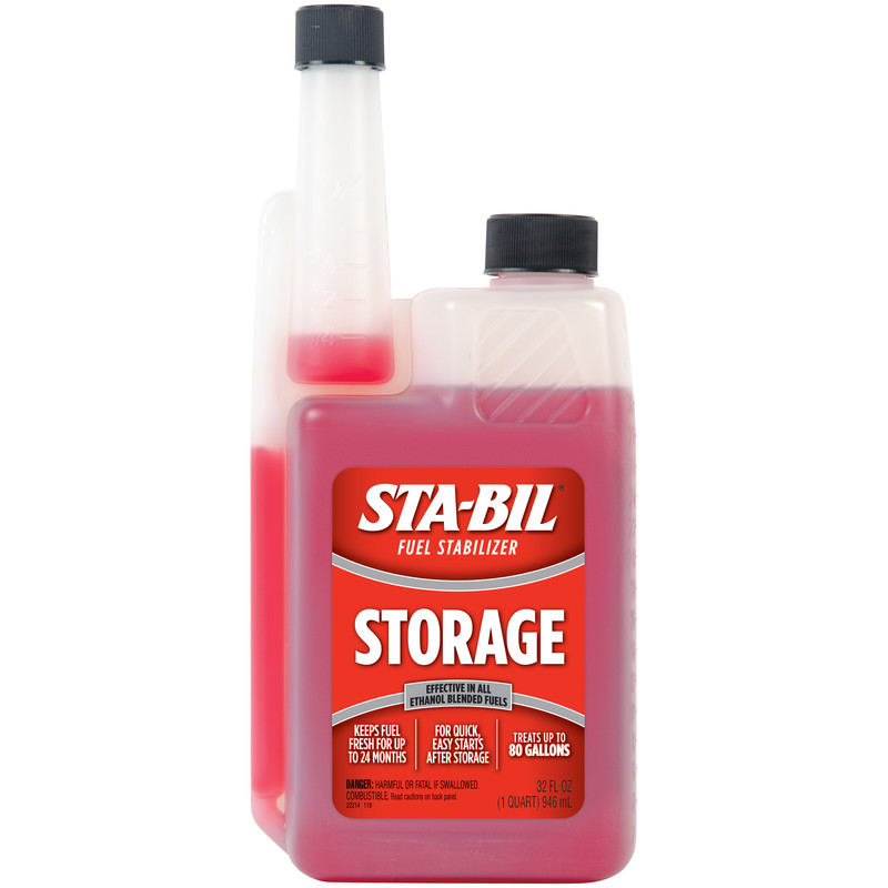 STA-BIL (22214) Storage Fuel Stabilizer for All Gasoline Engines, 32 fl oz