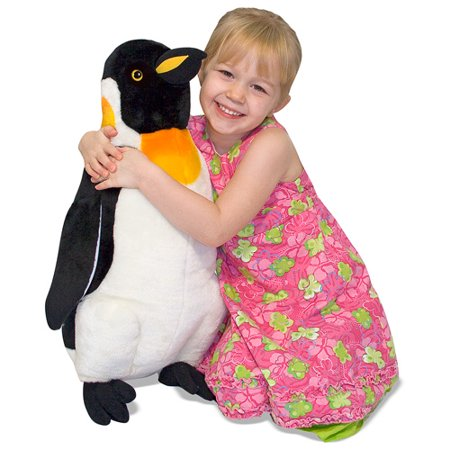 Melissa & Doug Giant Penguin - Lifelike Stuffed Animal (nearly 2 feet tall)