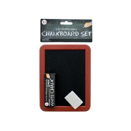 Bulk Buys GM818-24 Mini Chalkboard Set - Mini Chalk Boards