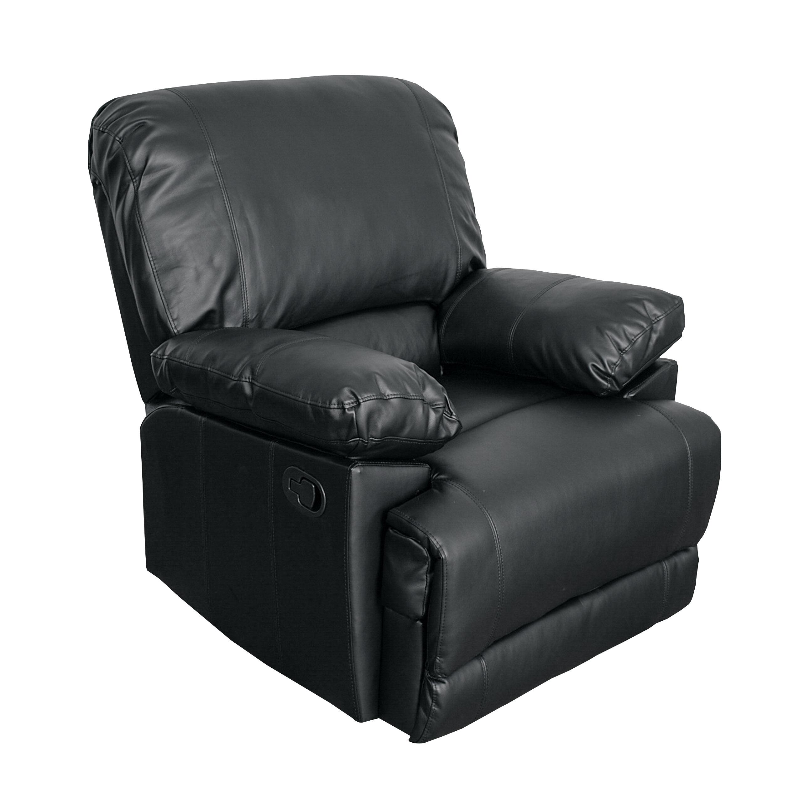 CorLiving Bonded Leather Reclining Chair