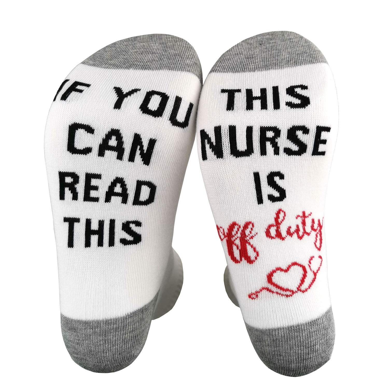 Funny socks Words on socks Novelty Socks if you can read this socks text on socks custom socks funny gift idea