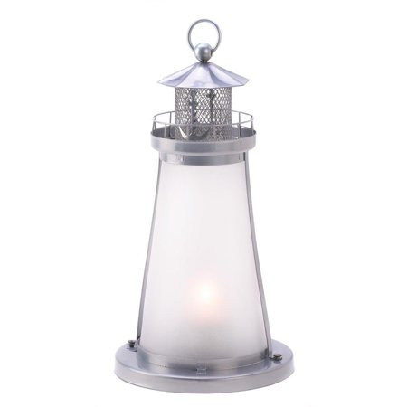 Hanging Lanterns Decorative, Iron Lighthouse Candle Lamp Outdoor Hanging Lantern Iron Outdoor Hanging Lantern