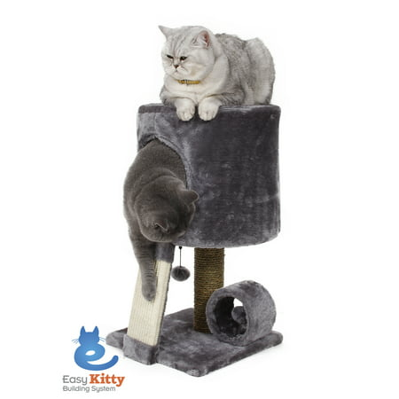Cat Wood Perch (Cat Craft Cat Condo Perch, Grey )