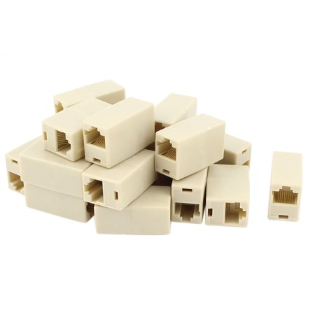 - Unique Bargains Cat5 RJ45 Lan Network Ethernet Cable Extender Joiner Adapter Coupler 20 PCS