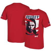 Ronda Rousey Reebok 2016 UFC International Fight Week Poster T-Shirt - Red