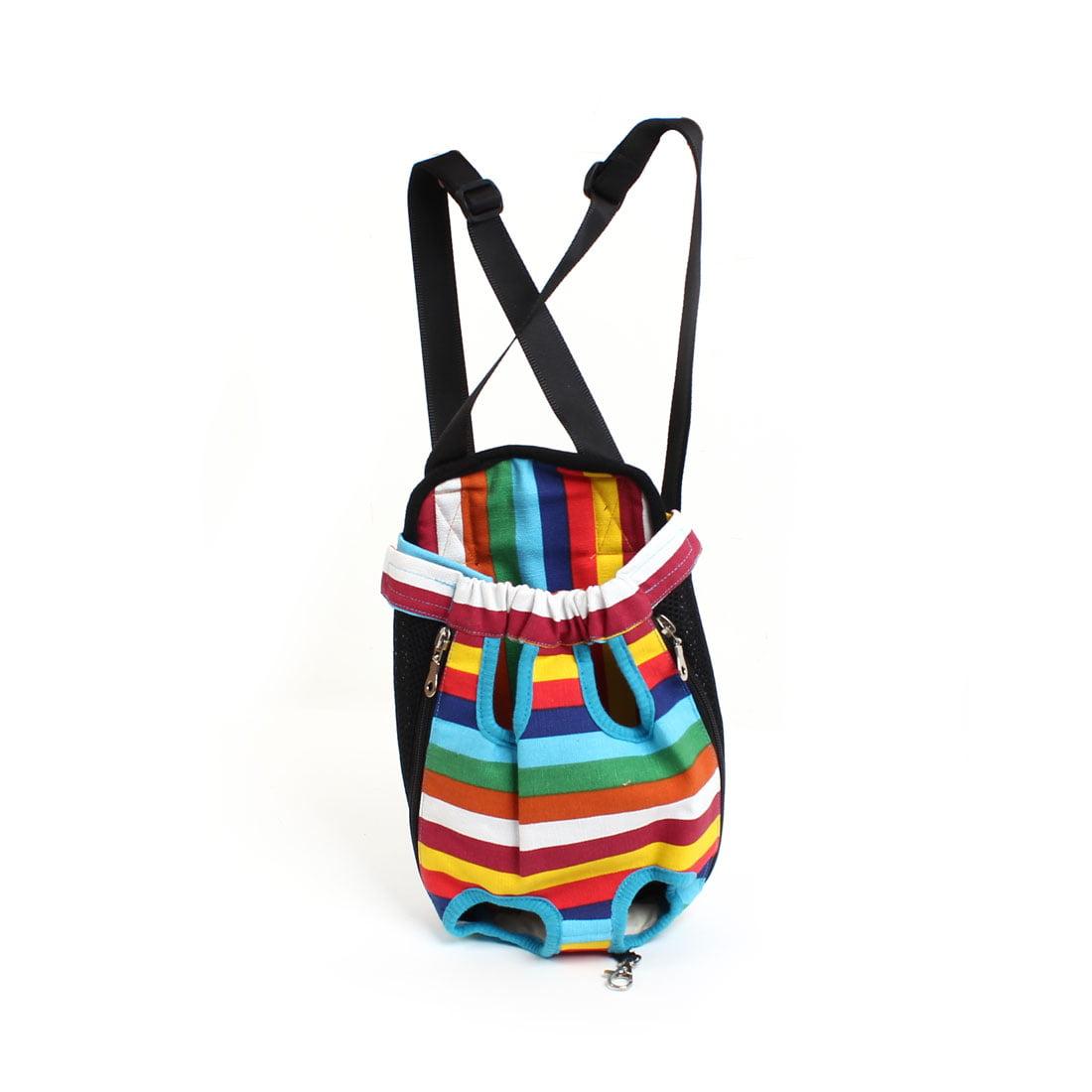 Assorted Color Adjustable Strap Release Buckle Pet Dog Outdoor Carry Bag M