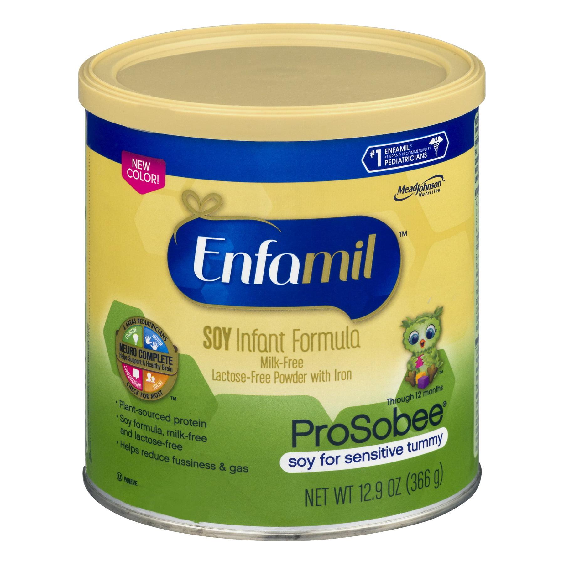 Enfamil ProSobee Soy Infant Formula Powder 12.9 oz. Canister
