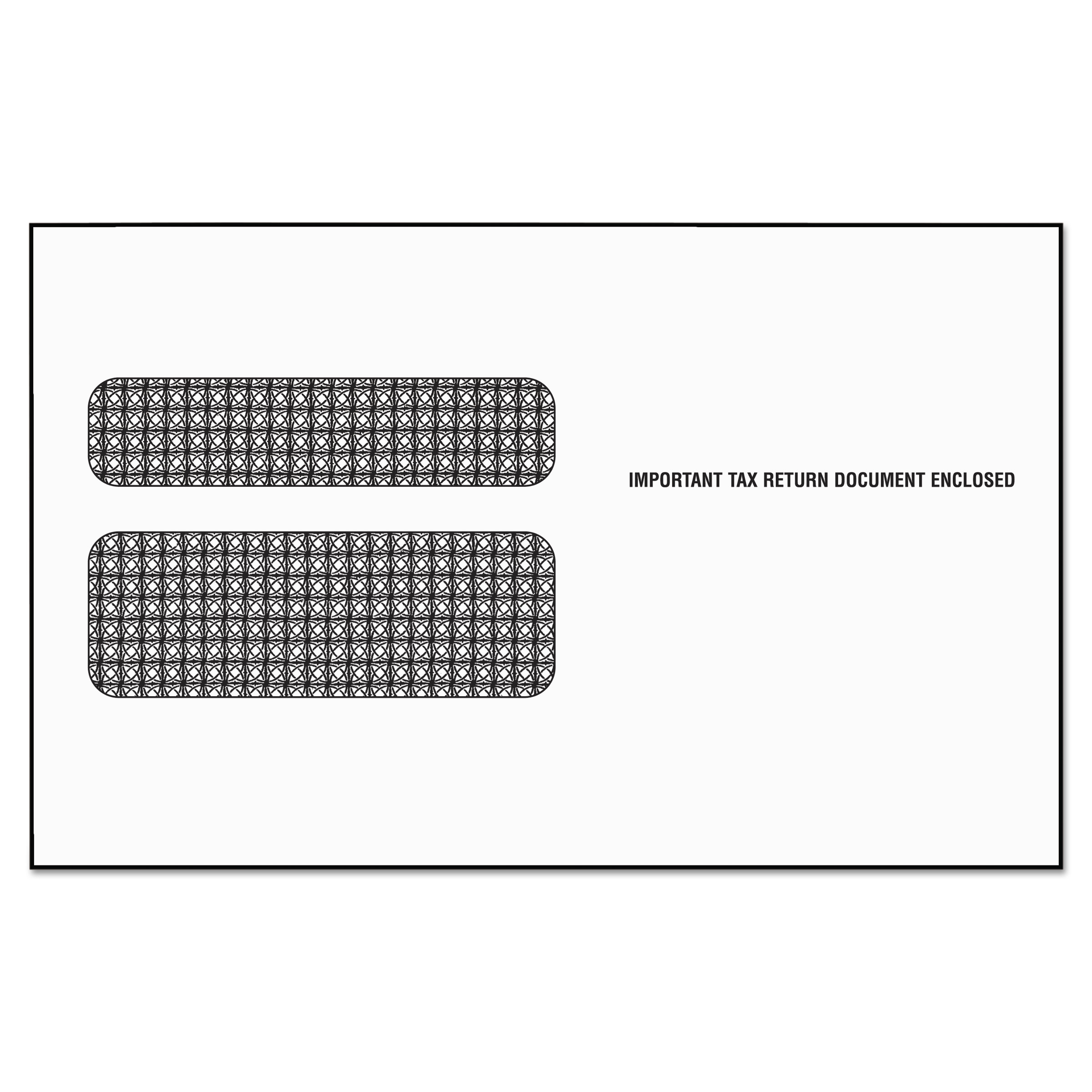 TOPS Double Window Tax Form Envelope/W2 Laser Forms,5 5/8 x 9, 50 ...