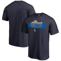Dallas Mavericks Fanatics Branded Skyline Hometown Collection T-Shirt - Navy