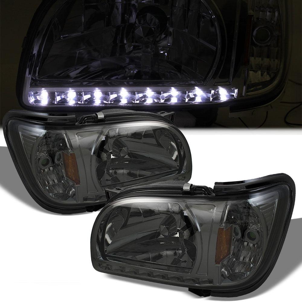 Spyder Auto HD-ON-TT01-1PC-LED-BK Crystal Headlight