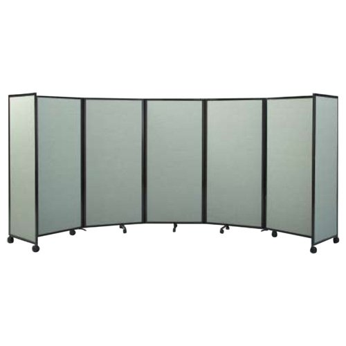 Versare Mobile Accordion Room Divider 360 - 14W ft.