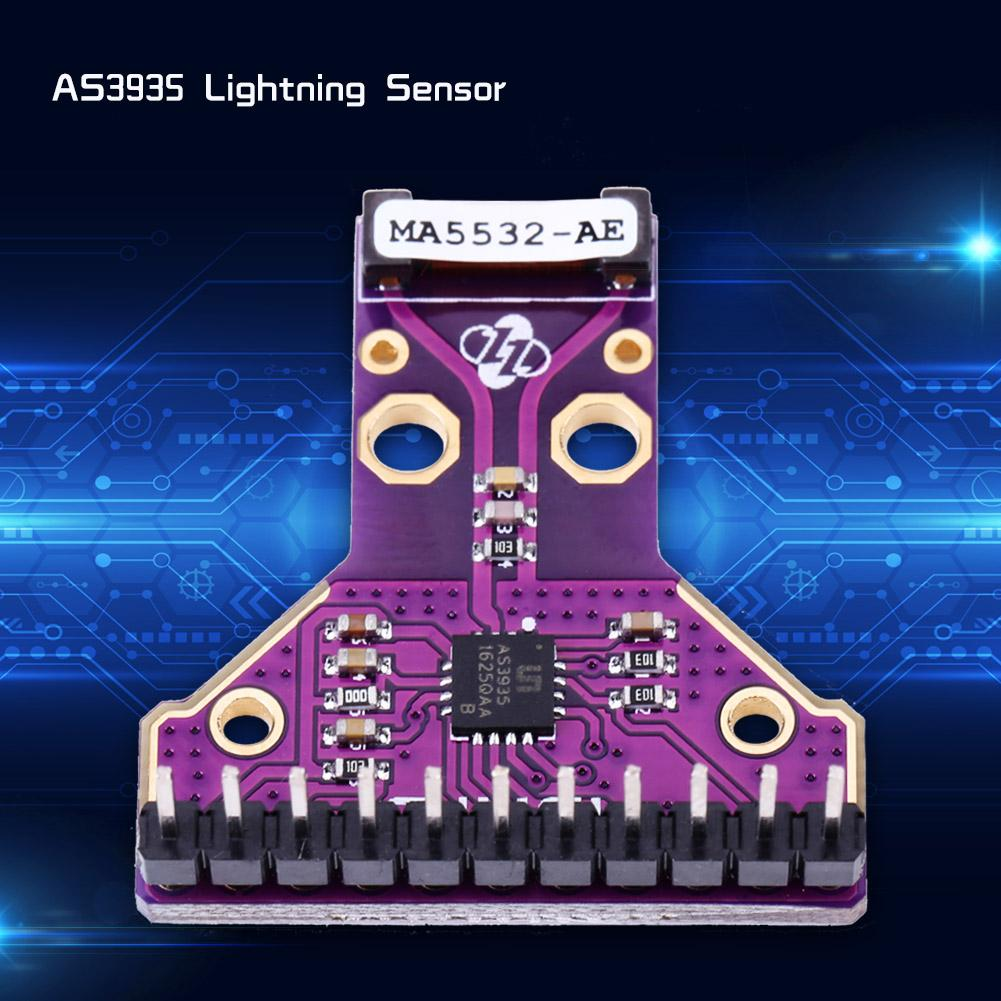 MA5532 AS3935 I2C SPI Lightning Strike Storm Distances Detector Sensor Breakout