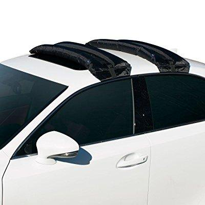 rakapak inflatable roof racks / snowboard rack / ski rack / travel / luggage carrier / universal / hand pump / car roof rack / 180 lb capacity ()