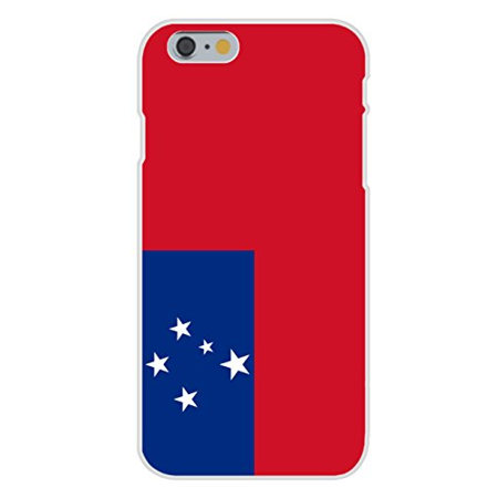 Apple iPhone 6+ (Plus) Custom Case White Plastic Snap On - Samoa - World Country National Flags ()