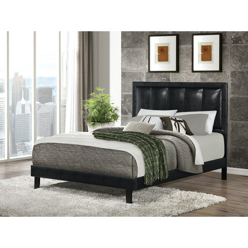 Wildon Home  Upholstered Panel Bed