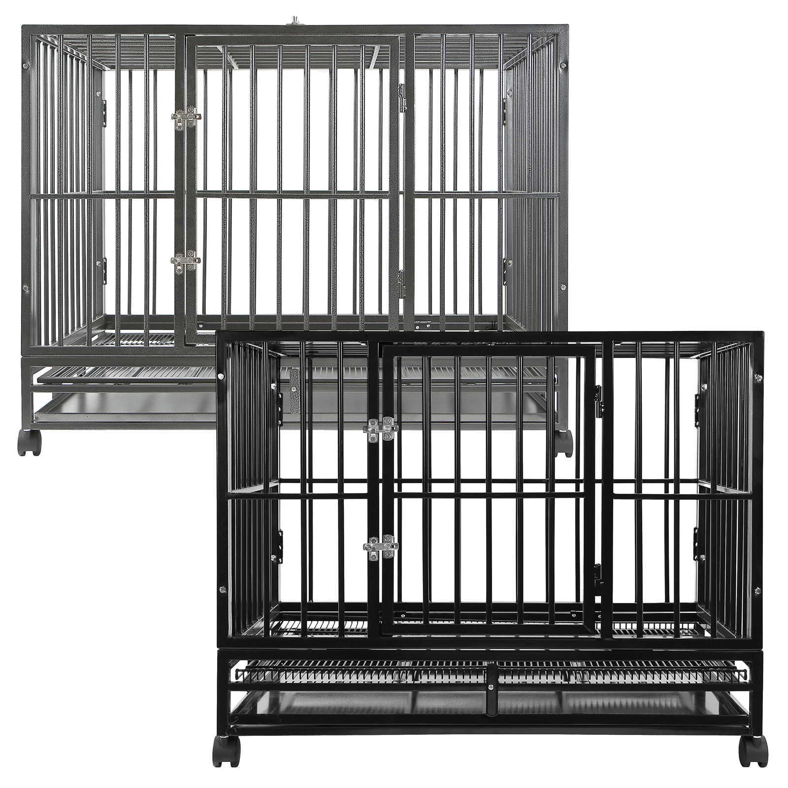 SmithBuilt Heavy Duty Dog Cage Crate Kennel - Multiple Co...