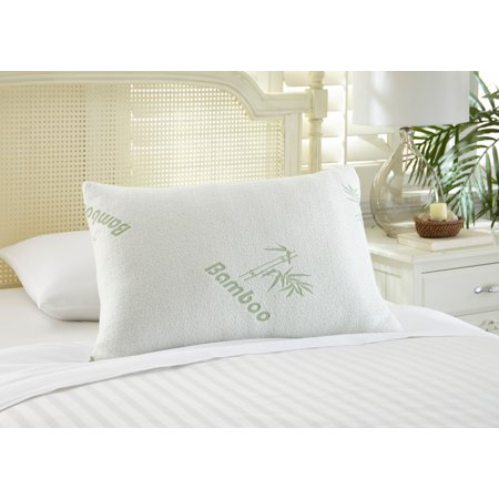- Botanical Comfort Bamboo by Rayon Memory Foam Pillow