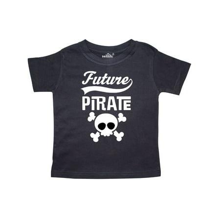 Future Pirate Kids Skull Toddler T-Shirt