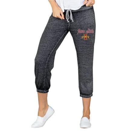 Iowa State Cyclones Concepts Sport Women's Knit Capri Lounge Pants - Charcoal