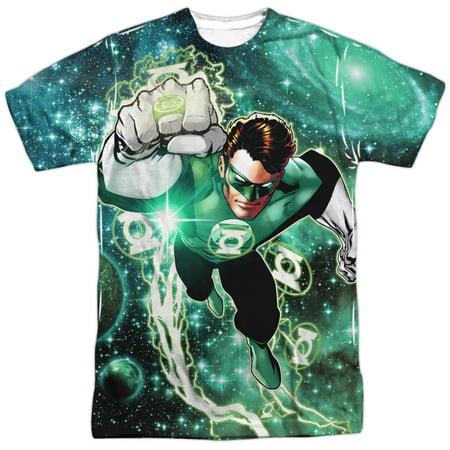Green Lantern DC Comics Superhero Ring Power Adult Front Print T-Shirt
