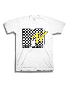 f1ebeefce Product Image MTV Mens Shirt with Vans Checkerboard - #TBT Mens 1980's  Clothing - I Want My