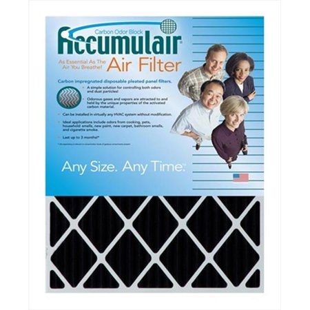 Accumulair FO17 25X26X1A Carbon Odor Block 1 In Filter Pack Of 4