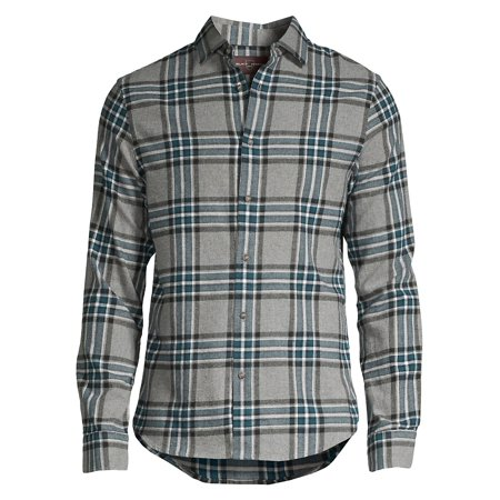 Plaid Button-Down Shirt Button Down Shirt With Suit