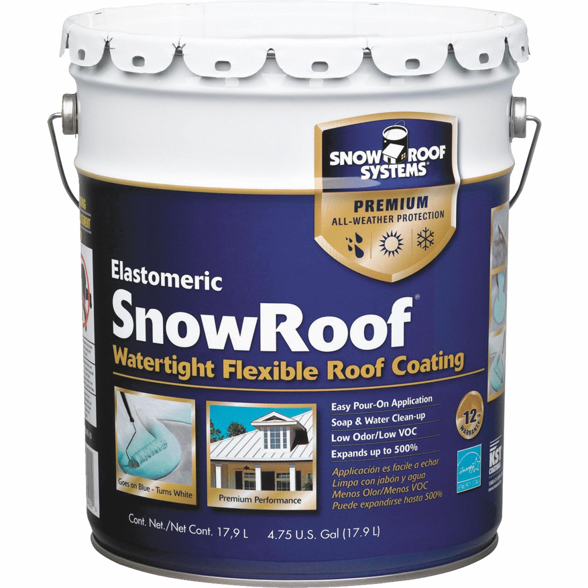 Premium Roof Coating,White,4.75 gal. KST COATINGS KST000SRB-20