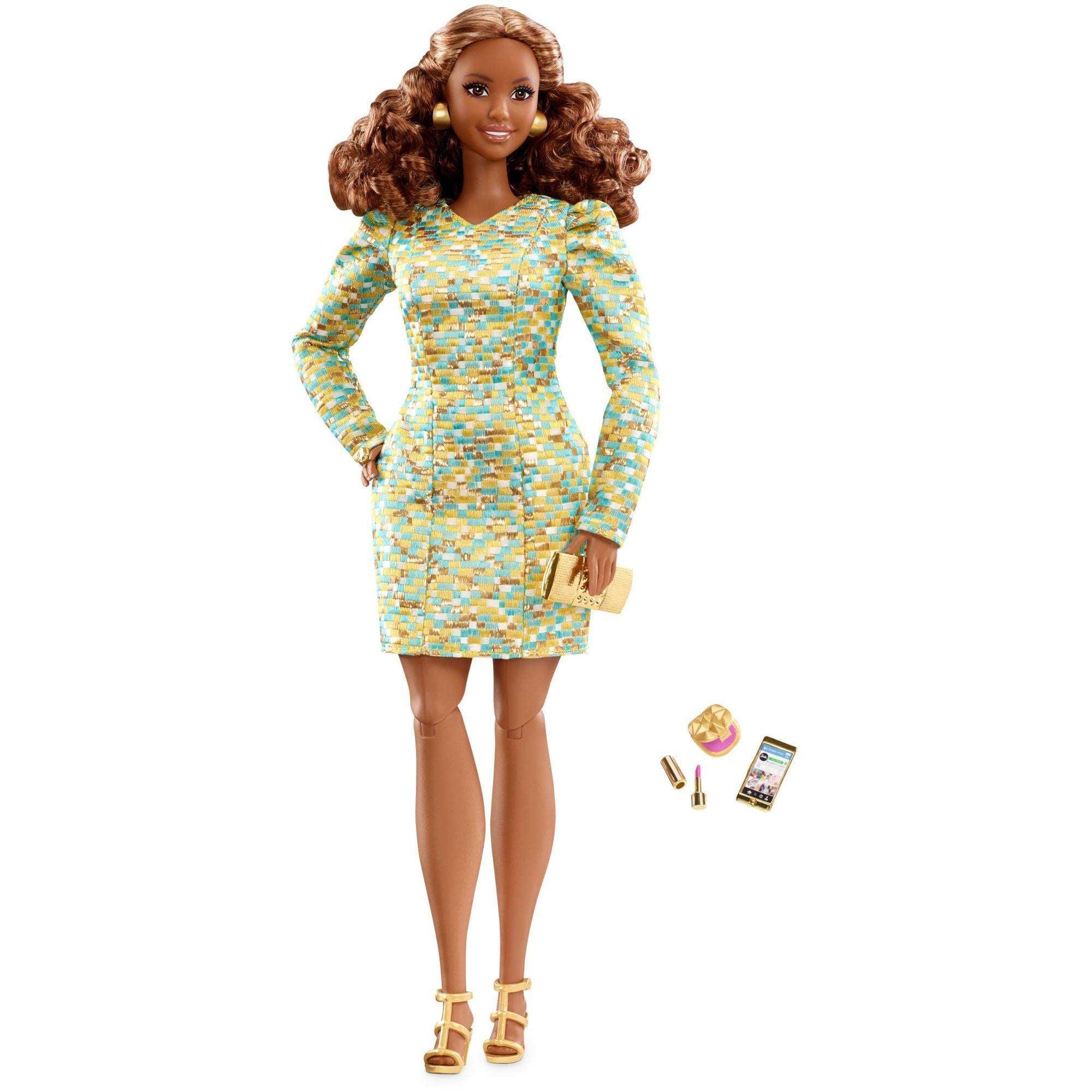 Barbie The Look Doll Metallic Mini by Mattel