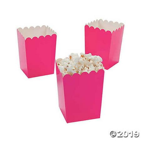 Oriental Trading Mini Valentine Popcorn Boxes, Hot Pink,](Oriental Trading Golf)